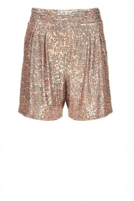 Nenette |  Sequin shorts Ercolana | pink