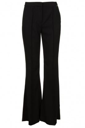 Nenette | Flared pants Edoardo | black