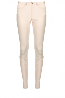 STUDIO AR BY ARMA |  Leather stretch legging Issie | natural