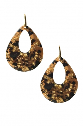Miccy's | Earrings XIV | brown