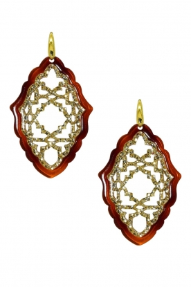 Miccy's | Earrings Aziz | brown