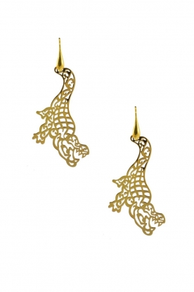 Miccy's | Earrings Crocodiles | gold