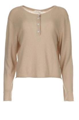American Vintage | Sweater from cashmere blend Bizbow | beige