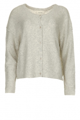 American Vintage |  Soft cardigan with buttons Damsville | grey