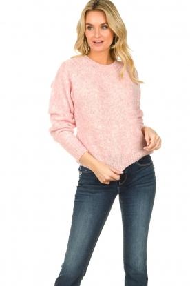 American Vintage |  Woollen sweater Fogwood | pink