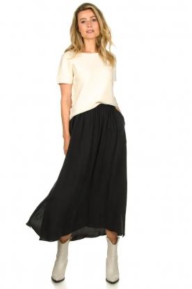 American Vintage |  Midi skirt Nonogarden | grey