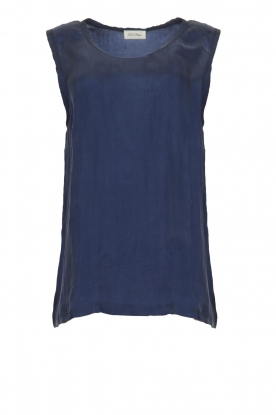 American Vintage |  Sleeveless top Nonogarden | blue