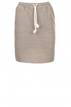 American Vintage    Skirt with drawstring Eliotim   grey