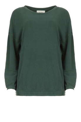 American Vintage |  Oversized sweater Hapylife | green