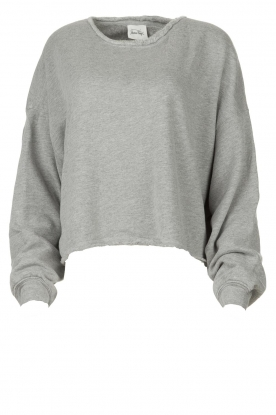 American Vintage |  Sweater with round collar Retburg | grey