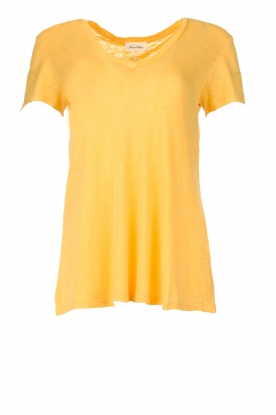 American Vintage |  Basic T-shirt Kobibay | yellow