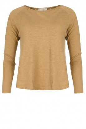 American Vintage |  Long sleeve Sonoma | camel