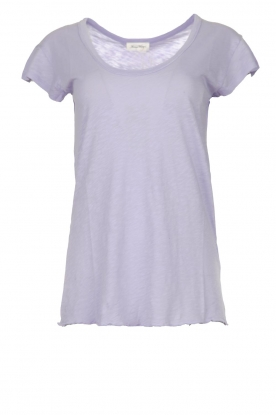 American Vintage |  Basic T-shirt Lorkford | purple
