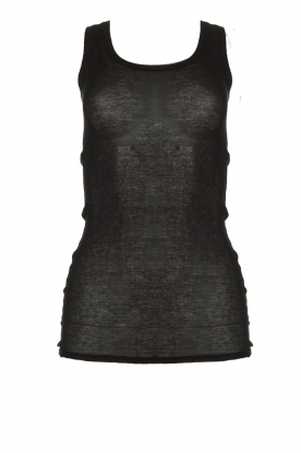 American Vintage |  Sleeveless top Massachusetts | black