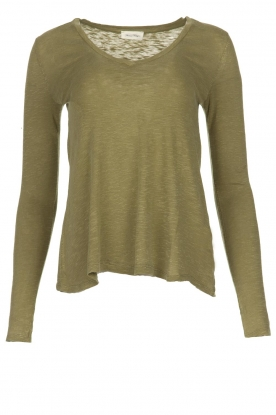 American Vintage |  Long sleeve top Kobibay |  green