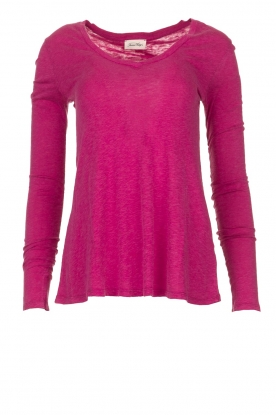 American Vintage |  Long sleeve top Kobibay | pink
