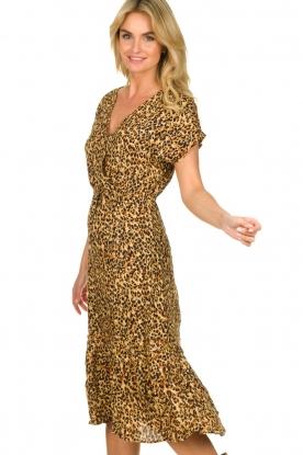 Freebird |  dierenprint | Leopard print dress Tara