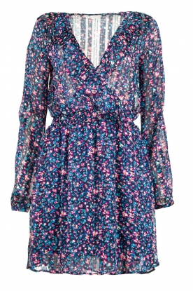 Freebird |Dress with flower print Gianna | blue