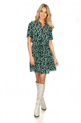 Look Mini dress with flower print Suzy
