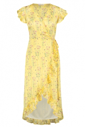 Freebird |  Dress with flowerprint| yellow
