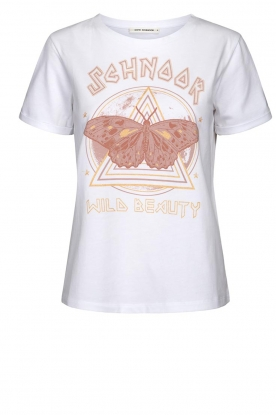 Sofie Schnoor |  T-shirt with print Fillicia | white