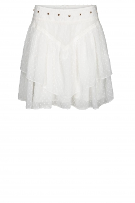 Sofie Schnoor |  Layered skirt Lara | white