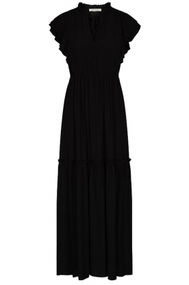 Sofie Schnoor |  Maxi dress with ruffles Ivalo | black