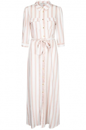 Sofie Schnoor |  Striped maxi dress Lula | white