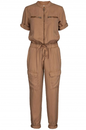 Sofie Schnoor |  Jumpsuit with pockets Herle | brown