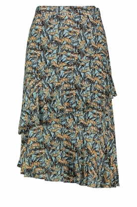 Aaiko |Skirt with print Arida | blue