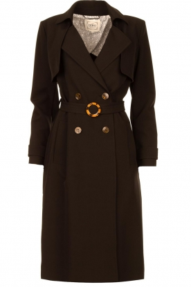 Aaiko | Trench coat Tuana | black