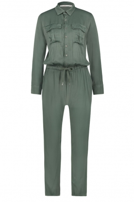 Aaiko |  Jumpsuit with drawstring Havane | green