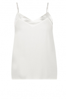 Aaiko |  Sleeveless top Vaxi | white