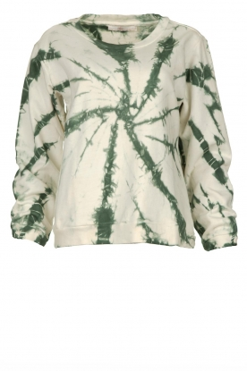 Aaiko |  Sweater tie-dye Tezz | green