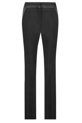 Aaiko |  Straight trousers Vanory | black