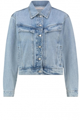 Aaiko |  Denim jacket Bryanna | blue