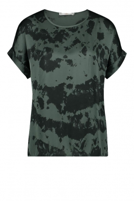 Aaiko | Tie dye top Merle | green