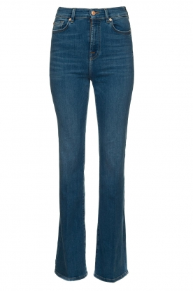 7 For All Mankind | High waist bootcut jeans Lisha | blauw