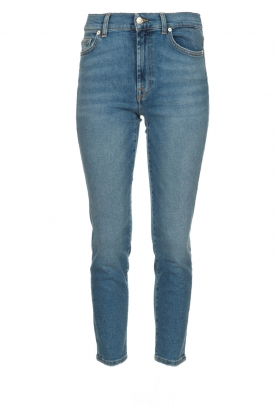 7 For All Mankind |  Mid waist skinny jeans Roxanne | blue
