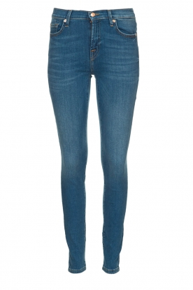 7 For All Mankind |  Skinny jeans The skinny | blue