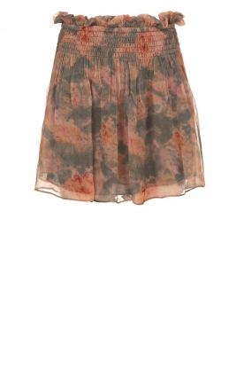 IRO |  Printed skirt Monieux | grey