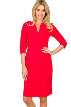 D-ETOILES CASIOPE |  Travelwear dress Trento | red