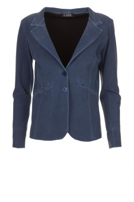 D-ETOILES CASIOPE |  Wrinkle-free stretch blazer Tokio | blue