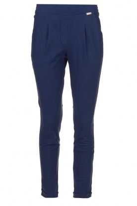 D-ETOILES CASIOPE |  Wrinkle-free stretch pants Rover | blue