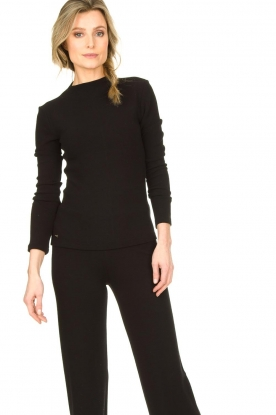 Lune Active |  Sports top Forrest | black