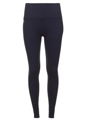 Lune Active |  Rib leggings Luna | blue
