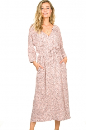 JC Sophie |  Printed maxi dress Dasia | pink