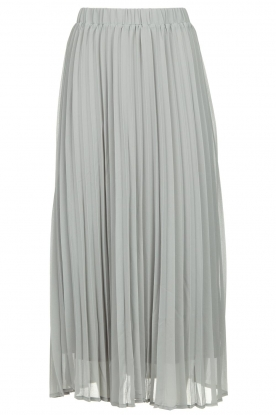 JC Sophie | Long pleated skirt Deloris| grey
