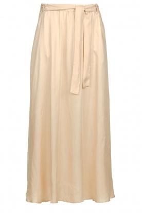 JC Sophie |  Belted maxi skirt Darlien | beige