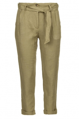 JC Sophie | Linen pants Debora | green